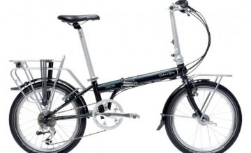 dahon speed tr folding bicycle