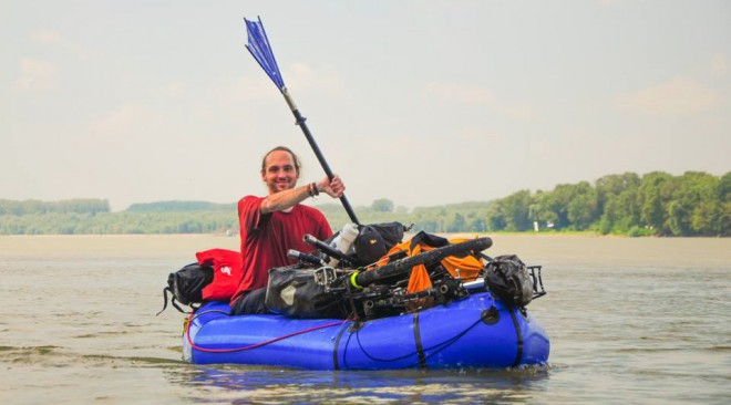 Bikerafting With Casey Link Cycle Touring With A Packraft