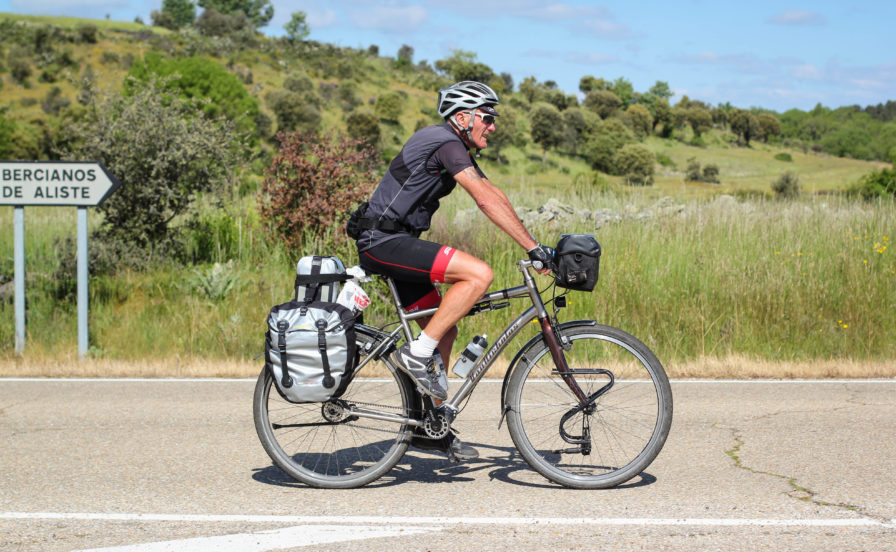 lightweight bicycle touring setup and gear list