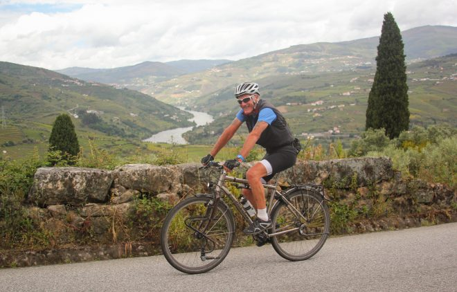 test riding the van nicholas deveron in portugal