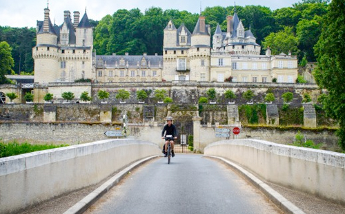 Loire Valley France Castle Bike Tour
