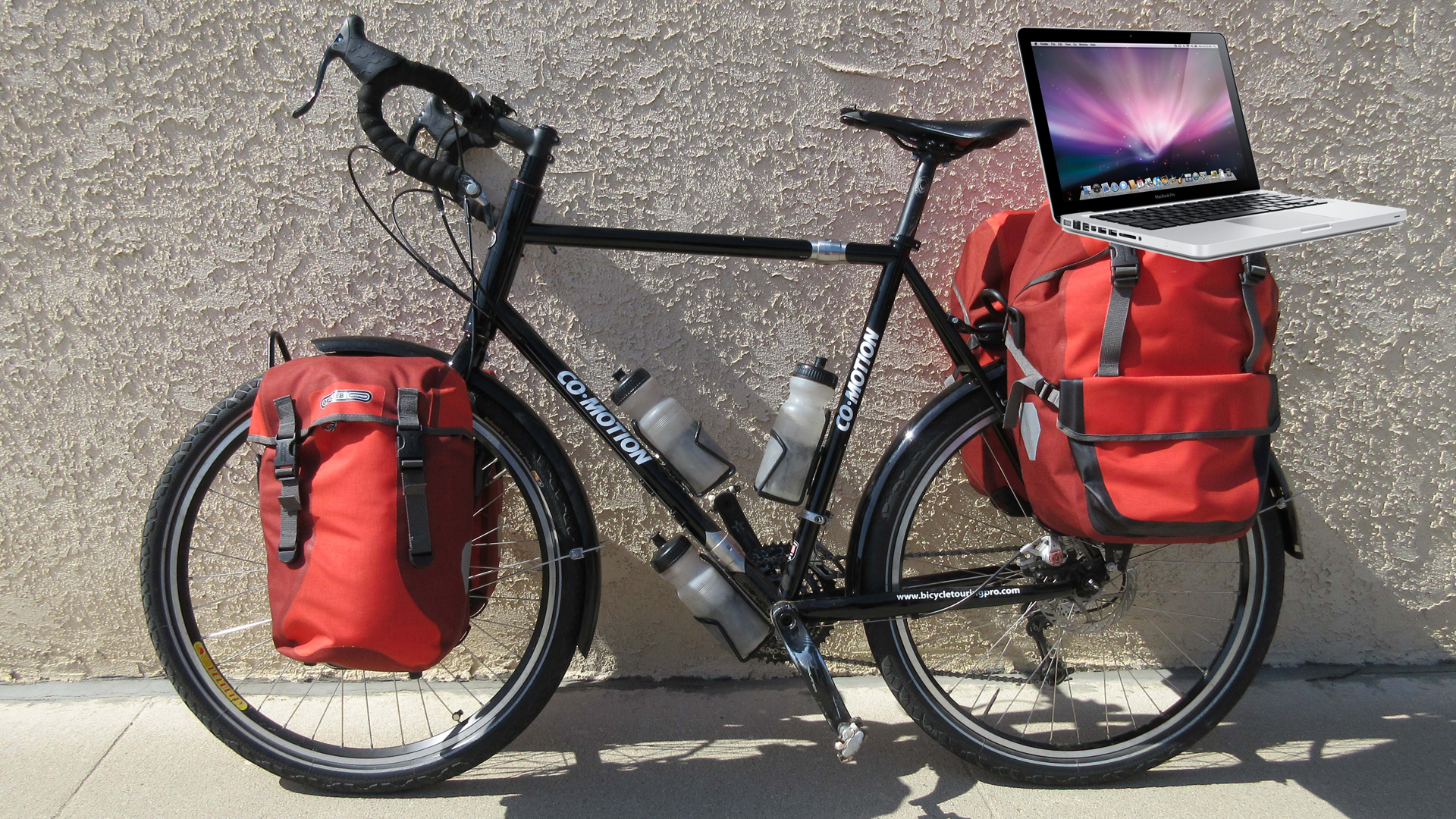 How to Safely Carry a Laptop Computer on Your Bicycle