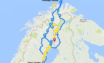Nordkapp Norway bike tour