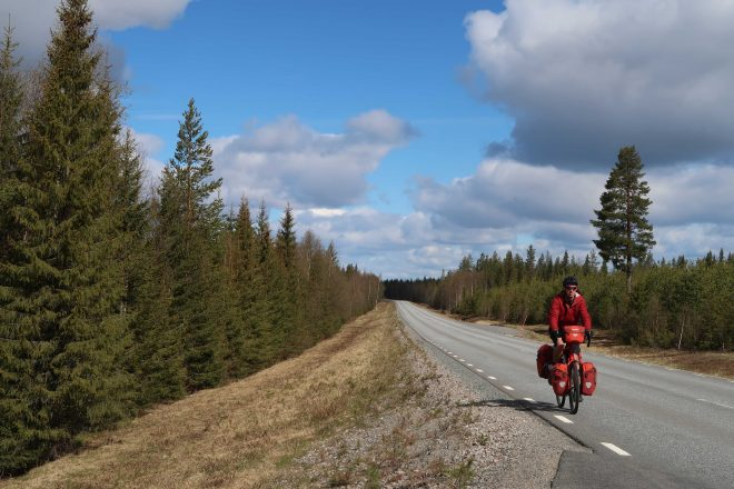Classic bicycle tour in Sweden
