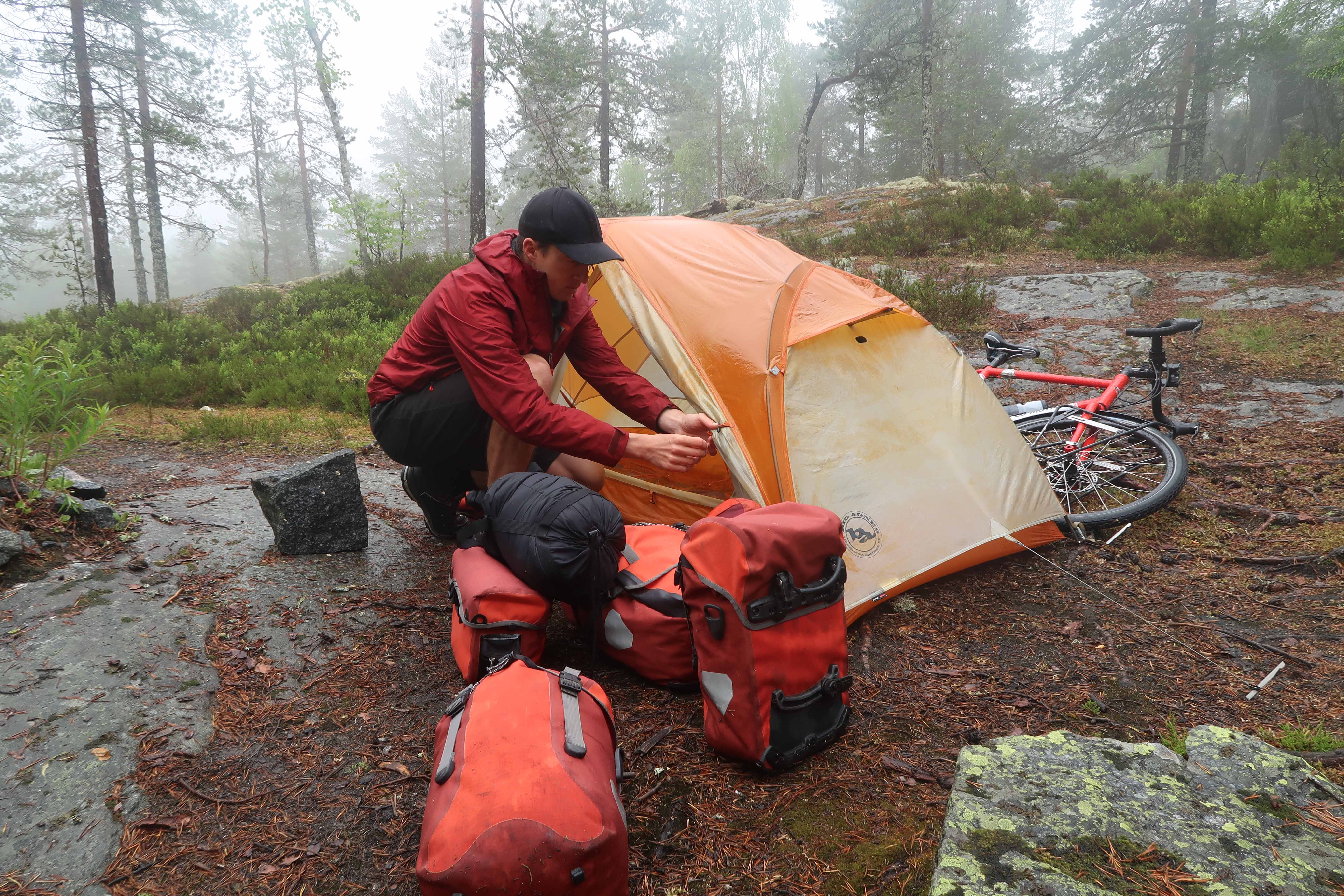 bike camping gear list