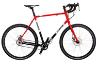 red white and black co-motion siskiyou bicycle