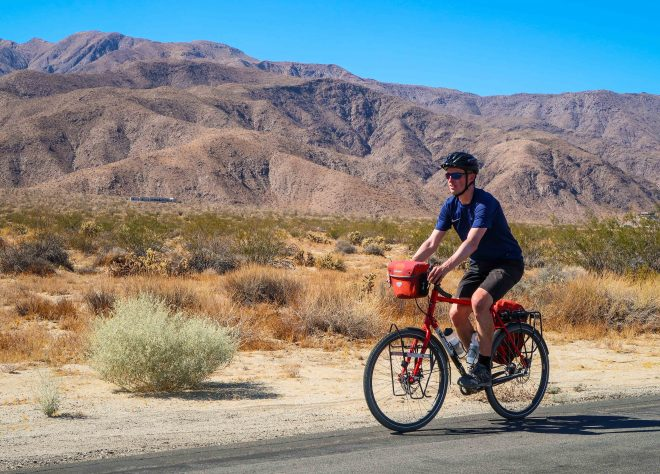 Bicycle Touring In Anza Borrego Desert State Park