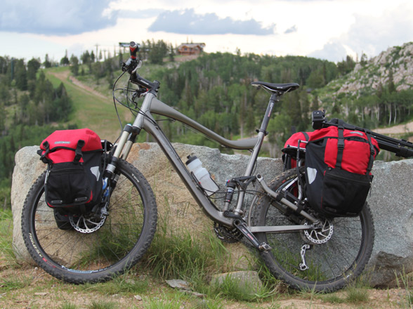 When Mountain Bike Touring Pack As Little Possible