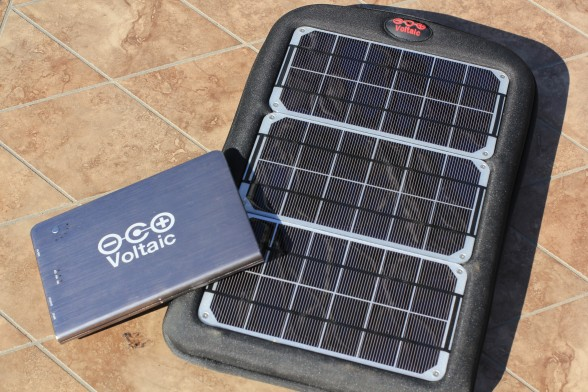 voltaic laptop solar charger