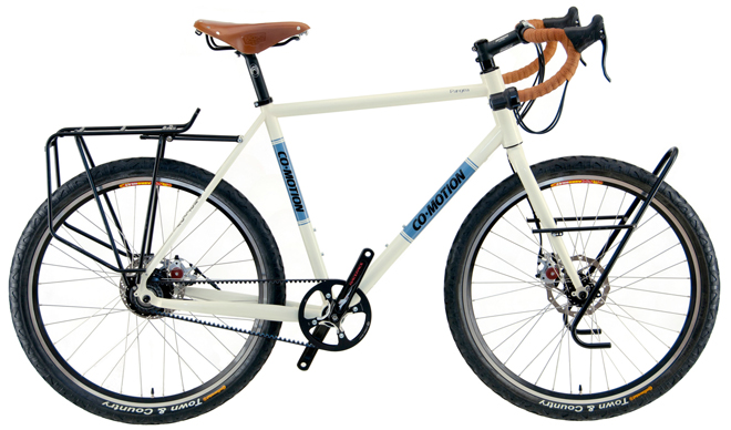 touring bicycle by co-motion cycles