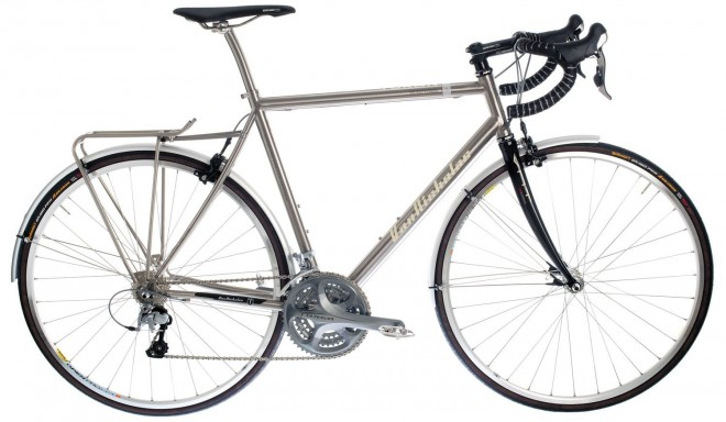 van nicholas titanium touring bicycle