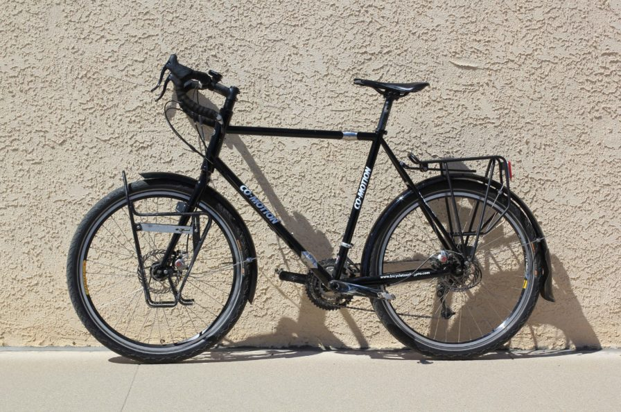 new touring bicycle