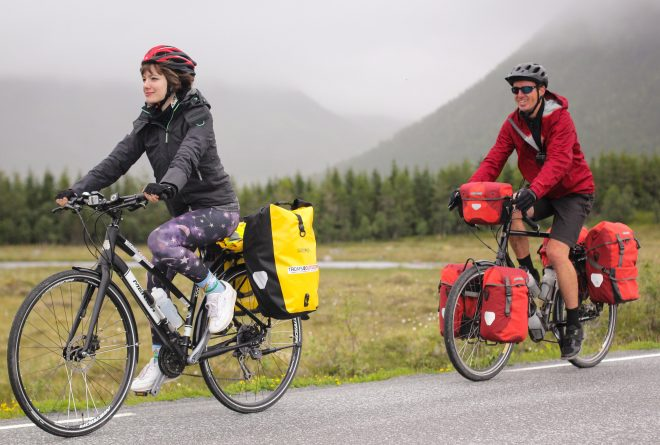Arctic Norway bike tour