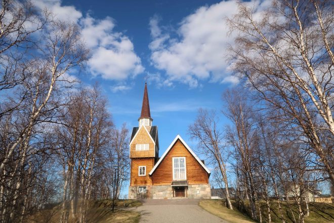 Church in Karesuando Sweden