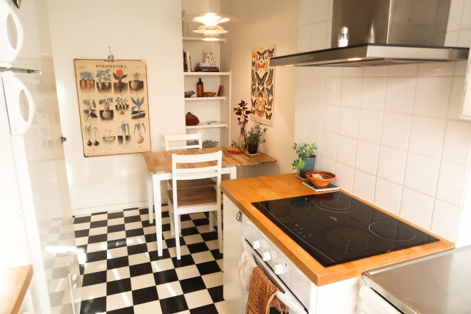 Umea Sweden kitchen interior