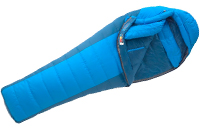 bliue winter sleeping bag