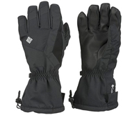 black winter snow gloves