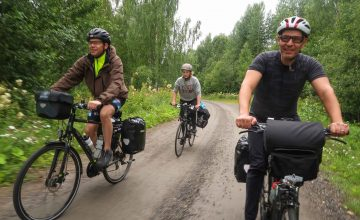 Group bike tour in Sweden