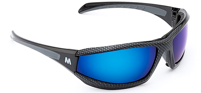 Morr Marrconi Sport Sunglasses with blue lenses