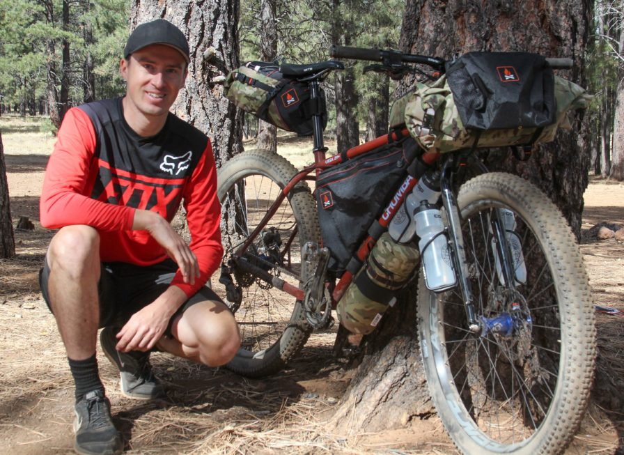 darren alff bikepacking with chumba usa and wanderlust gear