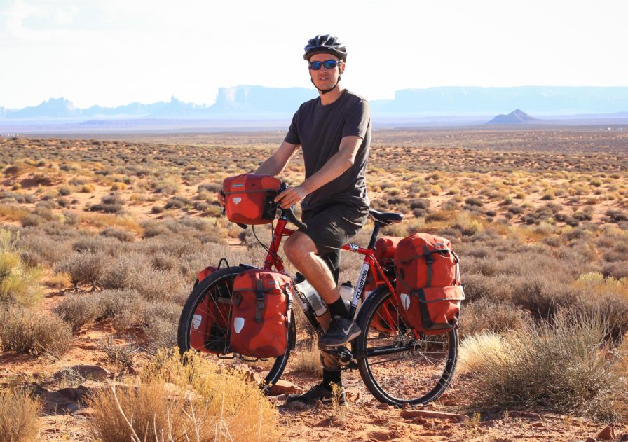 bicycle touring monument valley
