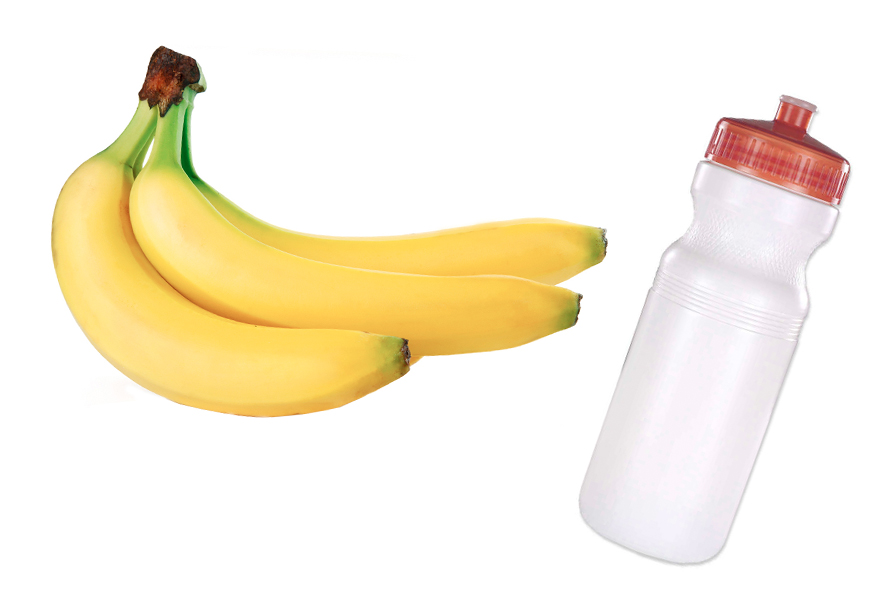 cycling food and water