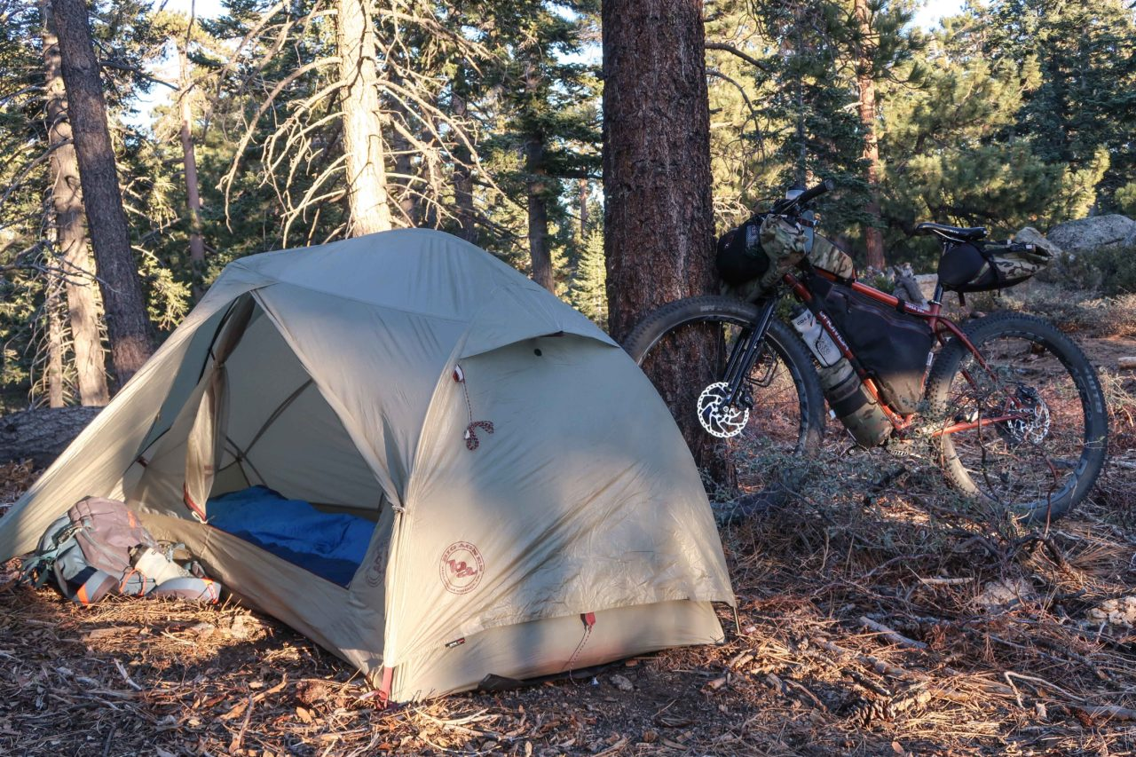 big bear lake bikepacking trip
