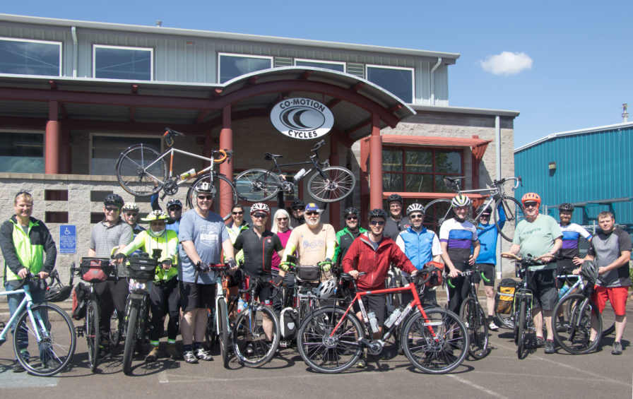 Bicycle Touring Pro Co-Motion Cycles Factory meet-Up in Eugene, Oregon