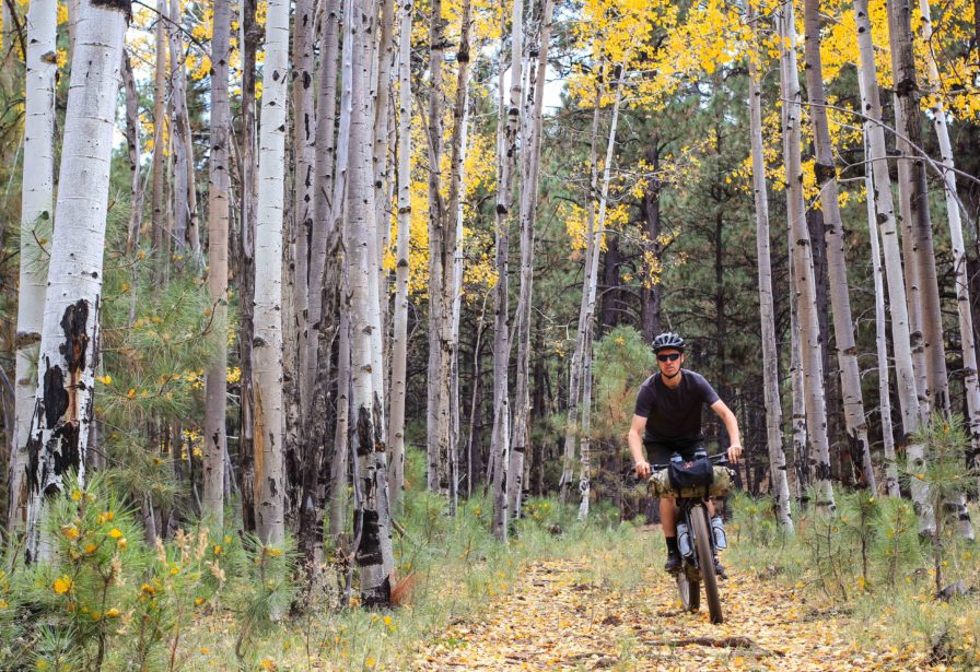 Bikepacking in Flagstaff Arizona