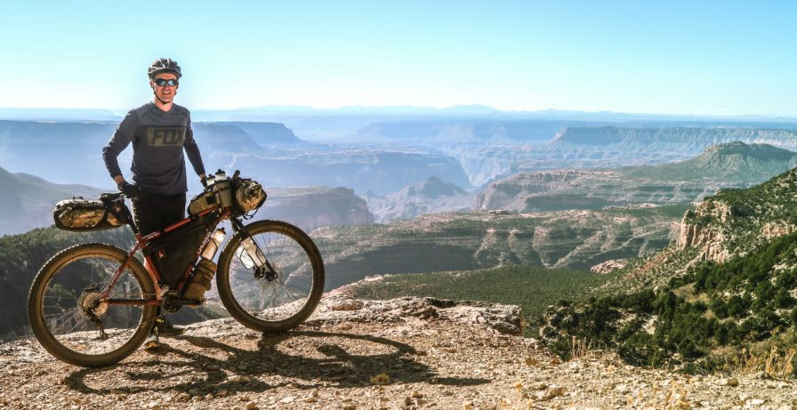 Bikepacking the Grand Canyon Rainbow Rim Trail