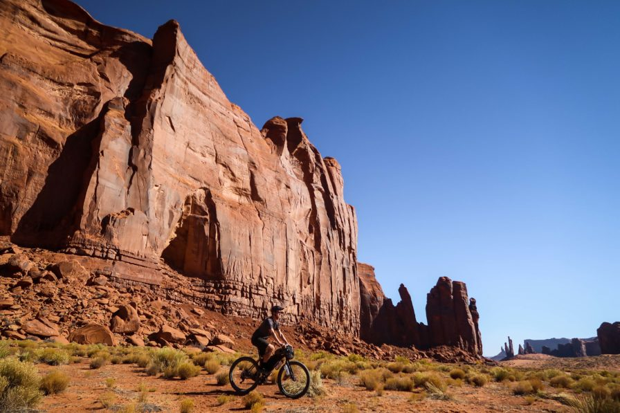 Monument Valley bike route