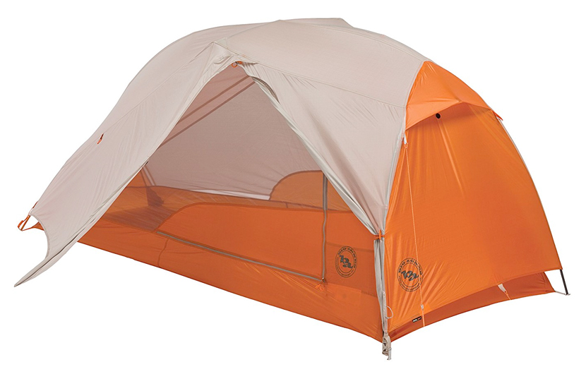 Big Agnes Copper Spur 1-Man Tent in Orange Color  sc 1 st  Bicycle Touring Pro : 1 man tents lightweight - memphite.com