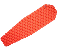 REI Flash Sleeping Pad in Orange