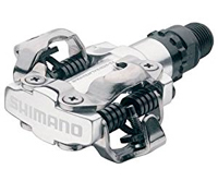 SPD clipless bike pedals from Shimano