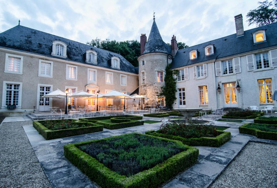 Luxurious French castle Hotel
