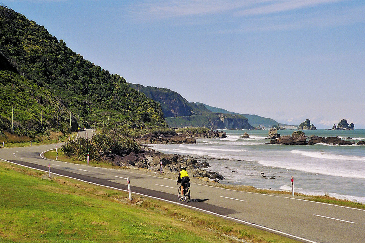 New Zealand - Great West Coast Cycle