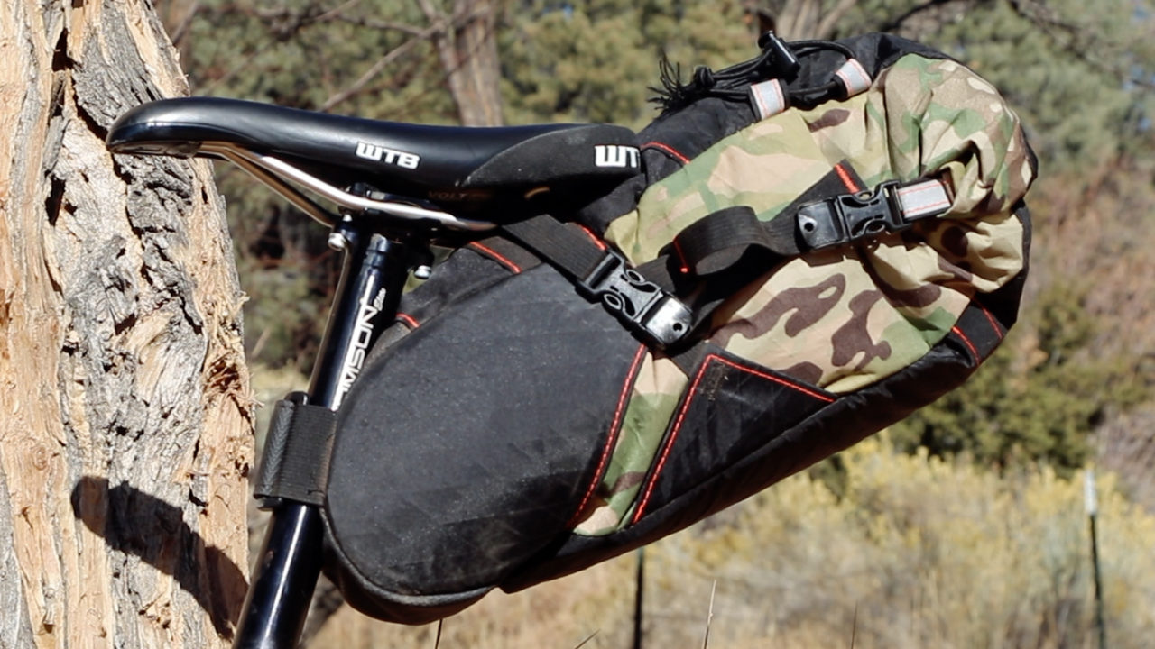Bikepacking Bags for touring bicycles