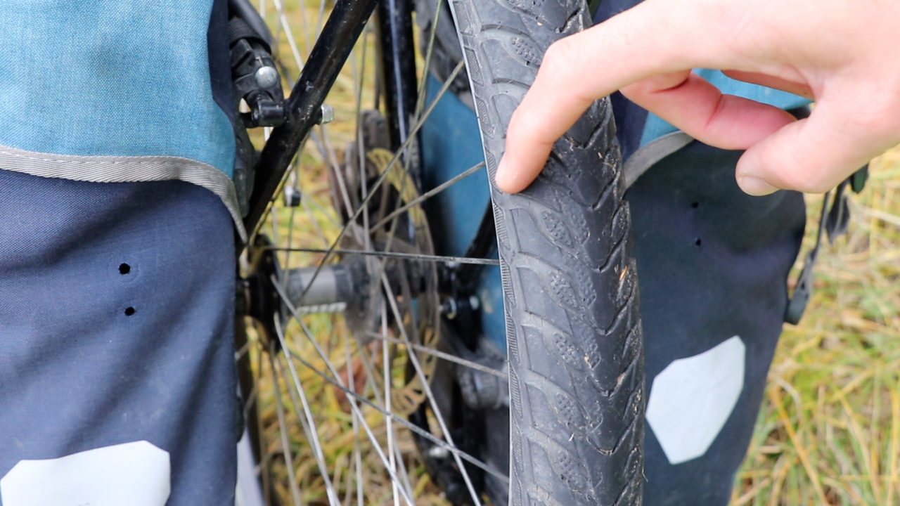 Touring Bicycle Wheels, Tires and Tubes