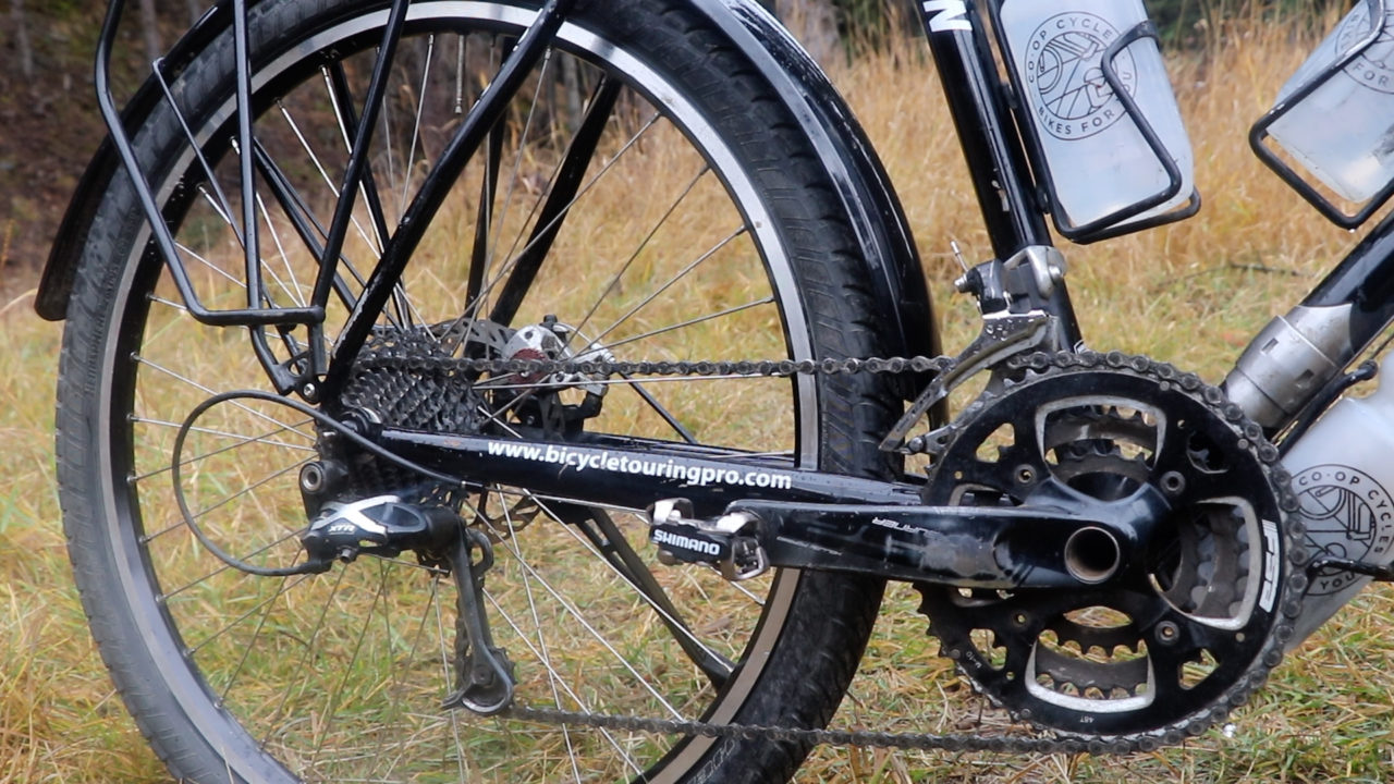 Touring Bicycle Gearing and Brakes