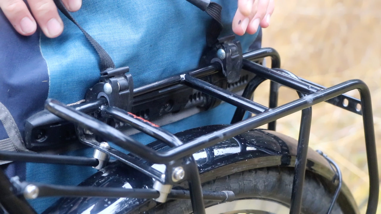 Touring Bicycle Racks and Panniers