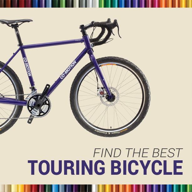 The Touring Bicycle Buyer's Guide - Book & Video Course