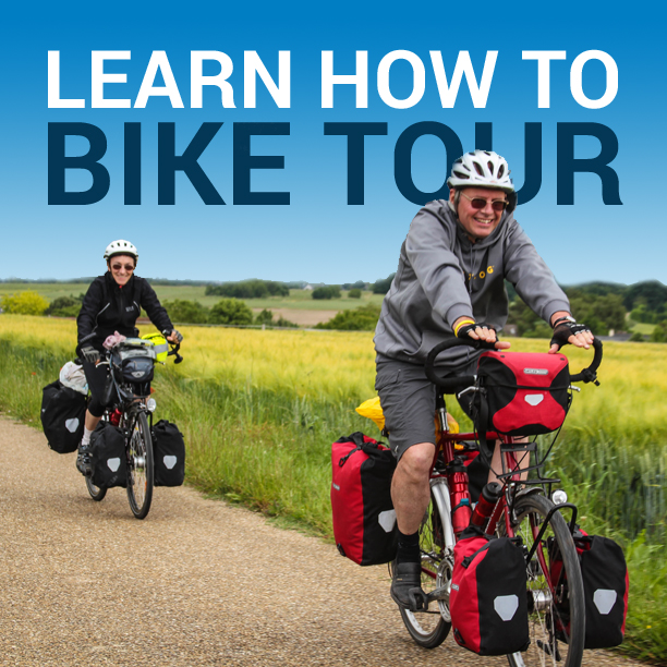 Learn How To Bike Tour - Book & Video Course