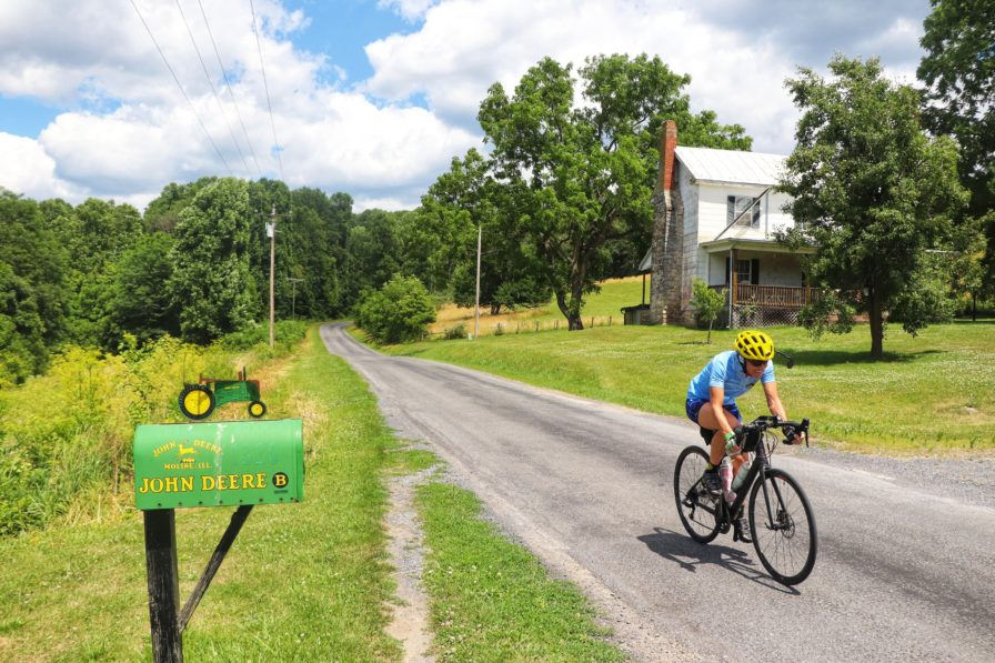 Bike Virginia tour
