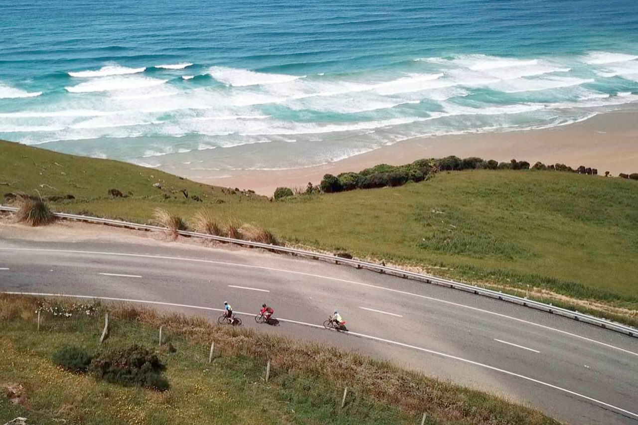 Southern Coast Cycle Tour - New Zealand