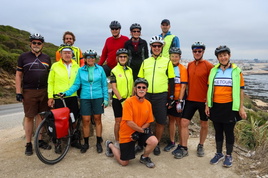 Silver Coast Bike Tour - Group Photo