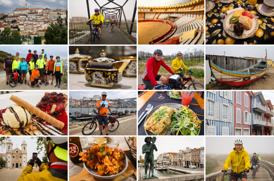 The Silver Coast Bike Tour - Photo Collage