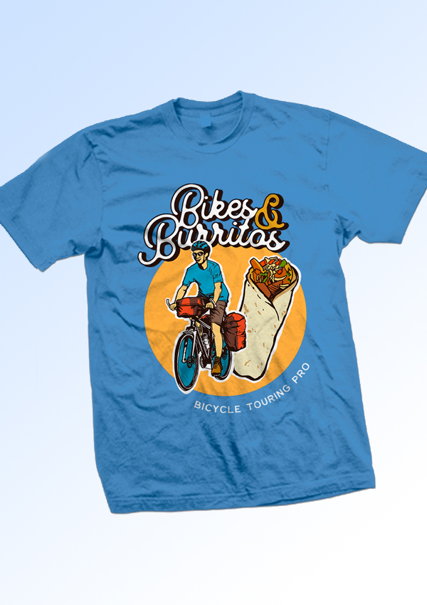Bikes & Burritos - Official T-Shirt