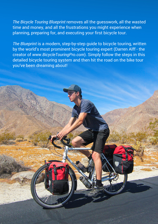 The Bicycle Touring Blueprint - Back Cover