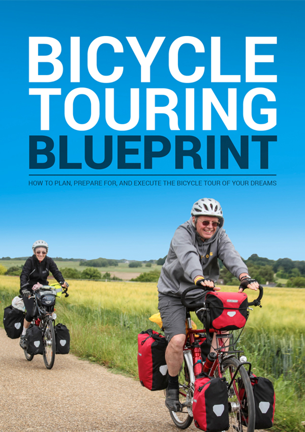 The Bicycle Touring Blueprint - Front Cover