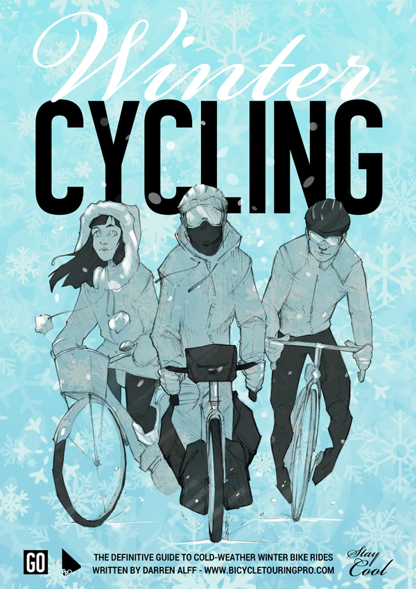 Winter Cycling Book - Front Cover